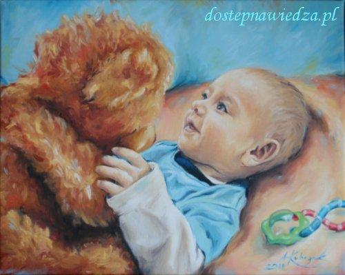 Artysta malarz Anna Kubczak, obraz olejny