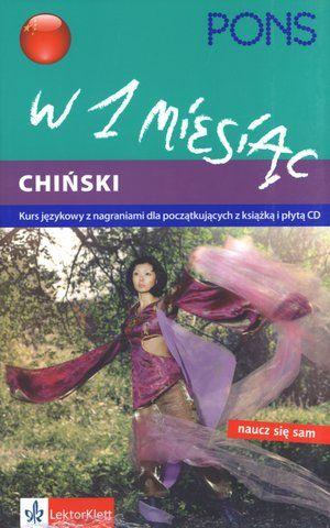Język chiński w 1 miesiąc, podręcznik z płytą CD