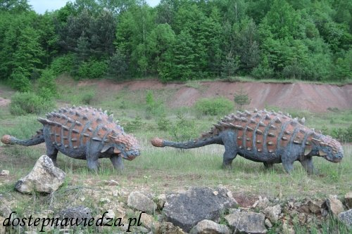 Park Dinozaurów JuraPark Krasiejów - trasą dinozaurów